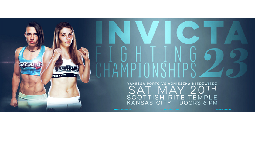 Flyweight Contenders Vanessa Porto and Agnieszka Niedźwiedź Clash in Main Event of Invicta FC 23