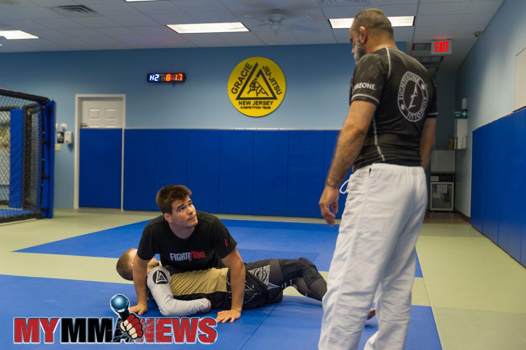 Mickey Gall, David Adiv, Gracie New Jersey, black belt