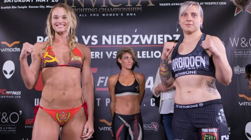 Liz Tracy vs Andrea Lee, Invicta FC 23