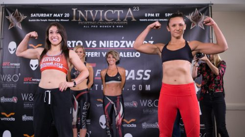 Herica Tiburcio vs Tessa Simpson, Invicta FC 23