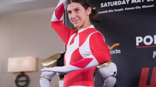 Roxanne Modafferi, Red Power Ranger, Invicta FC 23