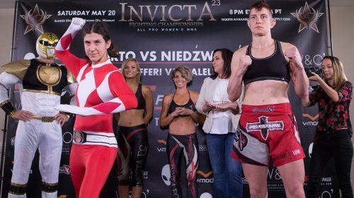 Roxanne Modafferi vs Sarah D'Alelio, Invicta FC 23