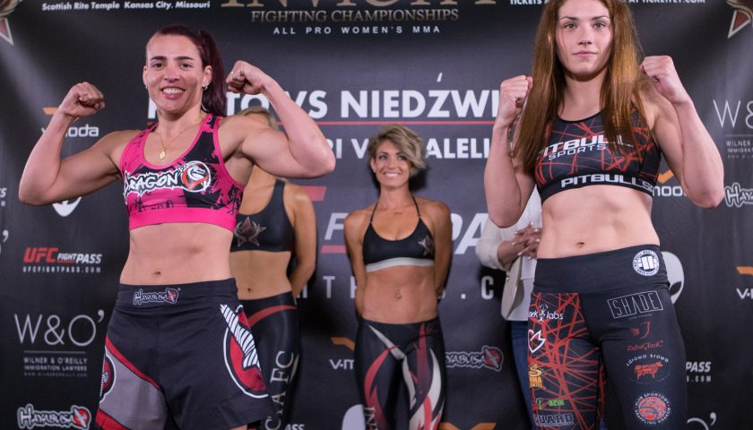 Invicta FC 23 results – Porto vs. Niedźwiedź from Kansas City
