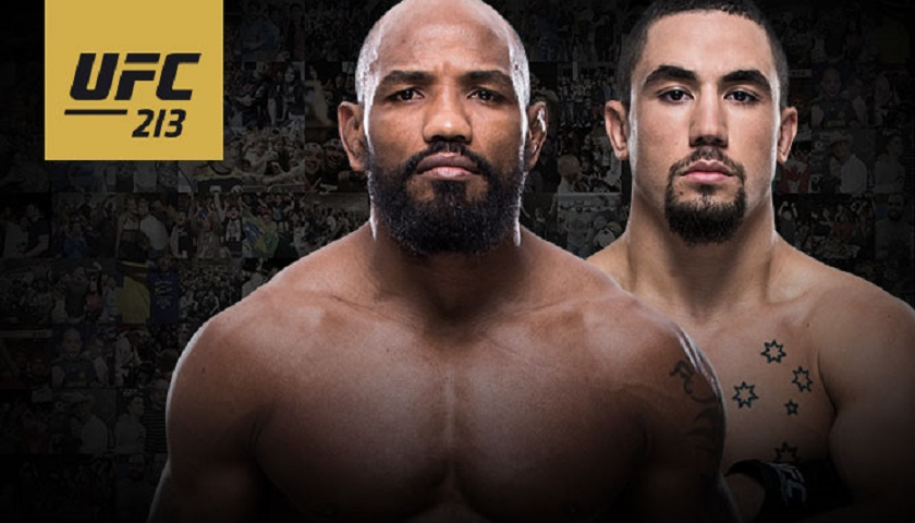 Yoel Romero vs Robert Whittaker for UFC middleweight interim title official for UFC 213