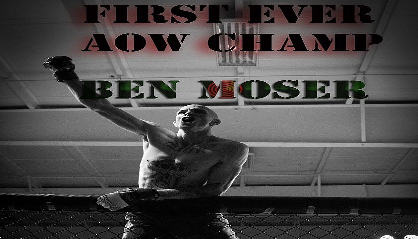 Ben Moser eyes rematch with friend, fellow AOW champion, Matt Turnbull