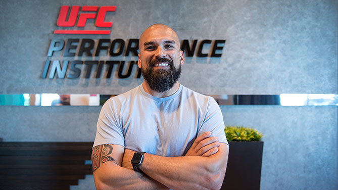 Bo Sandoval, UFC Director of Strength & Conditioning