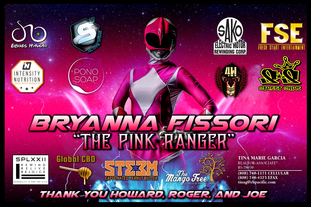 Bryanna Fissori sponsors