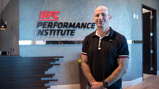 Clint Wattenberg, UFC Director of Nutrition