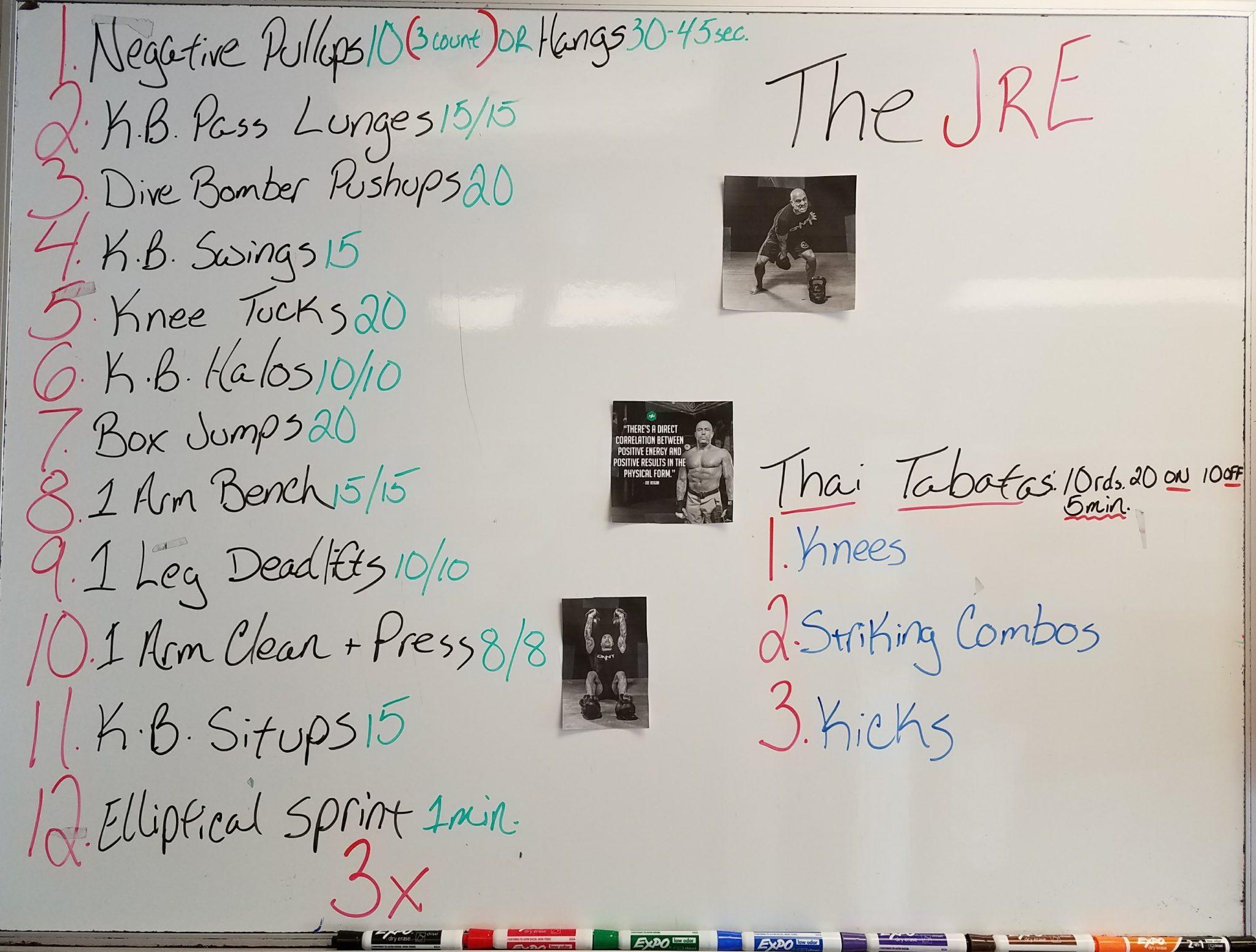 Joe Rogan Experience workout