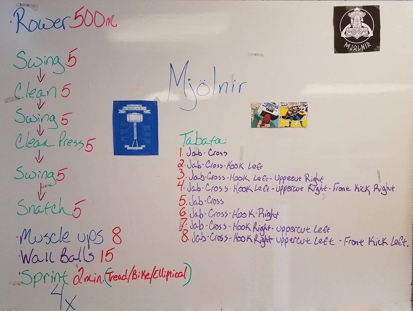 The Mjölnir workout
