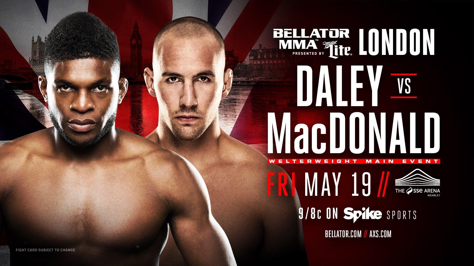Bellator  Macdonald Vs Daley