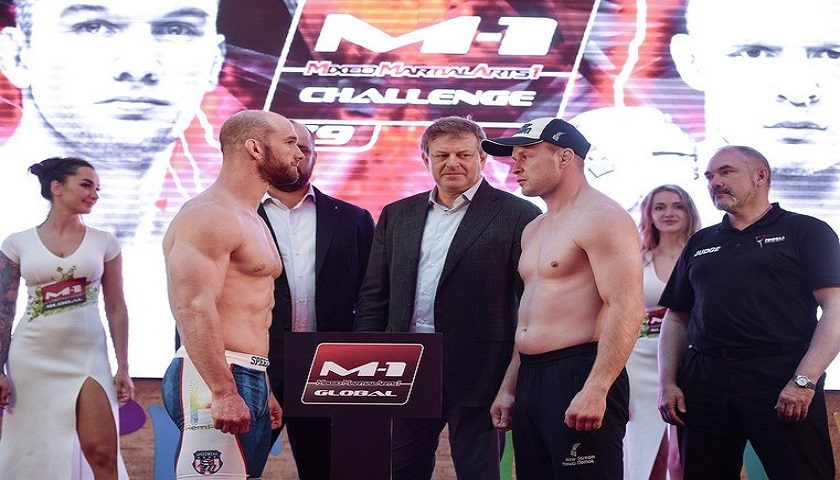 Alexander Shlemenko vs. Brandon Halsey official for rematch tomorrow in Russia