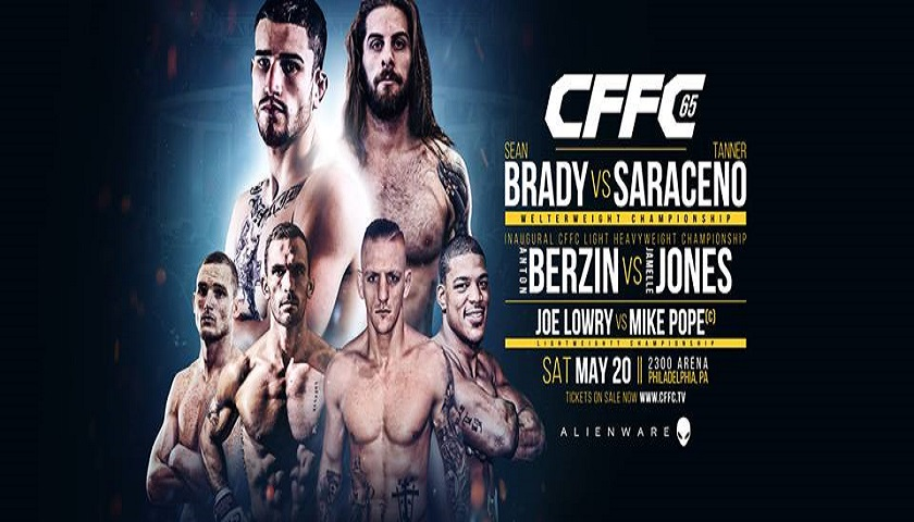 CFFC 65 results - 3 titles on the line in Philadelphia