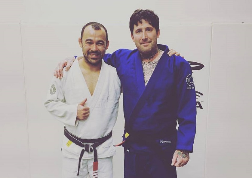 Marcelo Garcia promotes 21st blackbelt, Chris Civello of Sakura BJJ