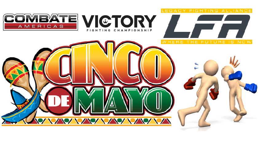 CinKO de MMAyo – 3 must watch fights with knockout potential this May 5th