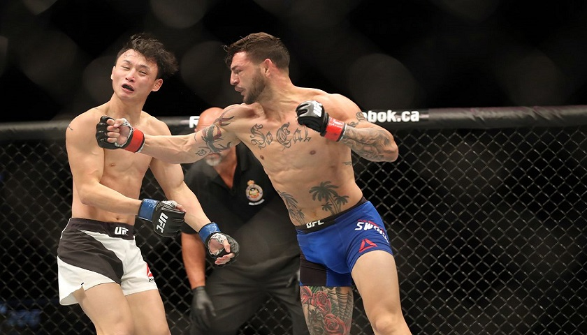 Workout Of The Week: Killer Cub - Cub Swanson vs. Doo Ho Choi