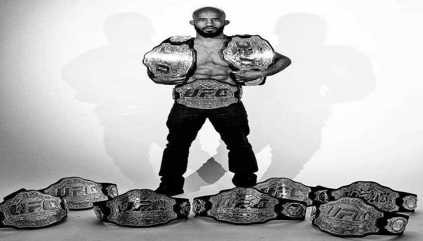 UFC makes good on promise, Demetrious Johnson receives all belts