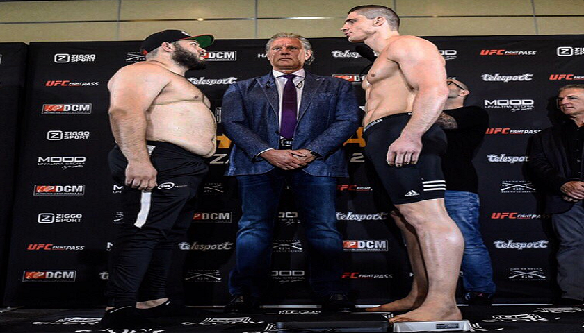 GLORY 41 HOLLAND and GLORY 41  SuperFight Series Weigh-in Results/Video