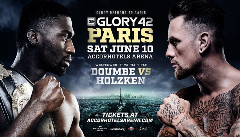 GLORY 42 Paris and GLORY 42 SuperFight Series Cards Completed