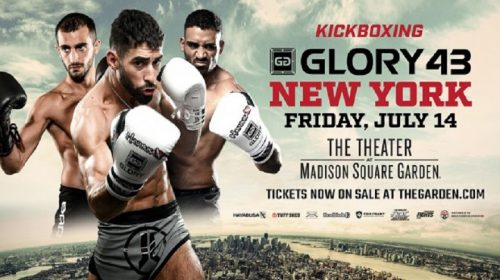 Featherweight contender tournament set for GLORY 43 New York