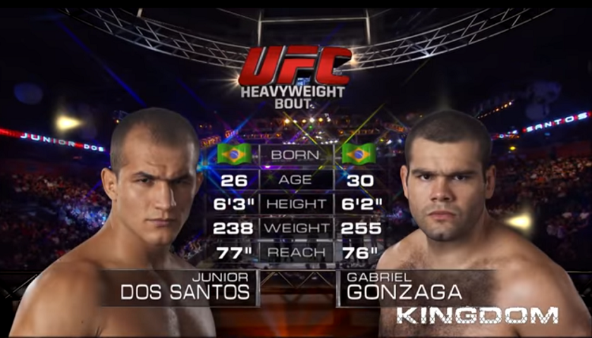 #FreeFightFriday – Junior Dos Santos vs Gabriel Gonzaga