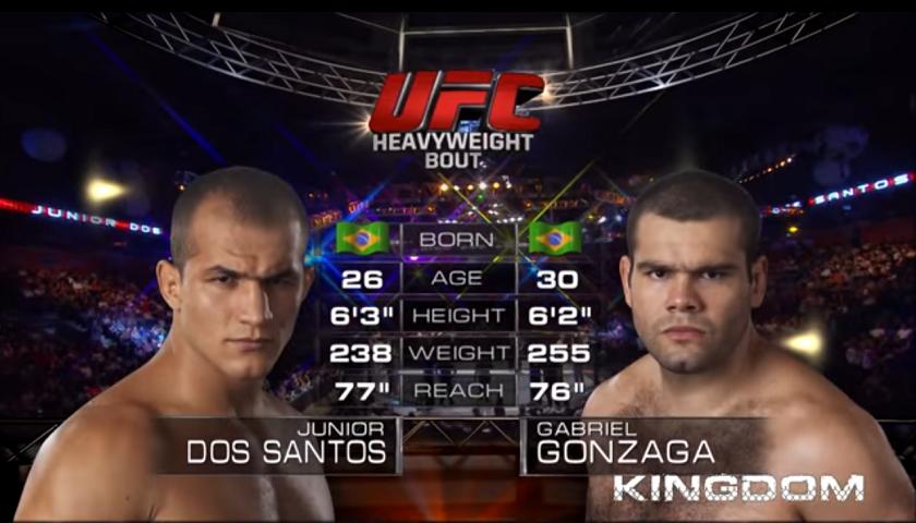 #FreeFightFriday - Junior Dos Santos vs Gabriel Gonzaga