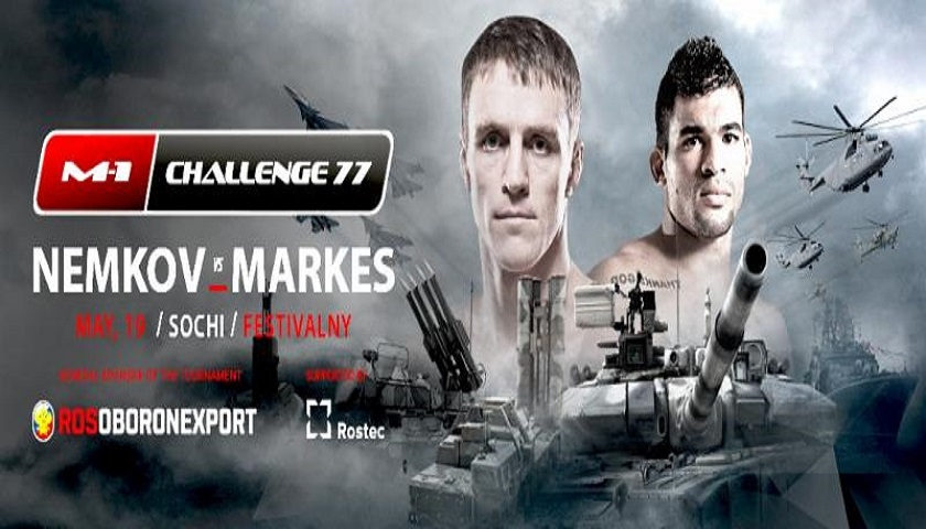 UFC Veteran Ronny Markes set to take on Viktor Nemkov in Russia at M-1 Challenge 77