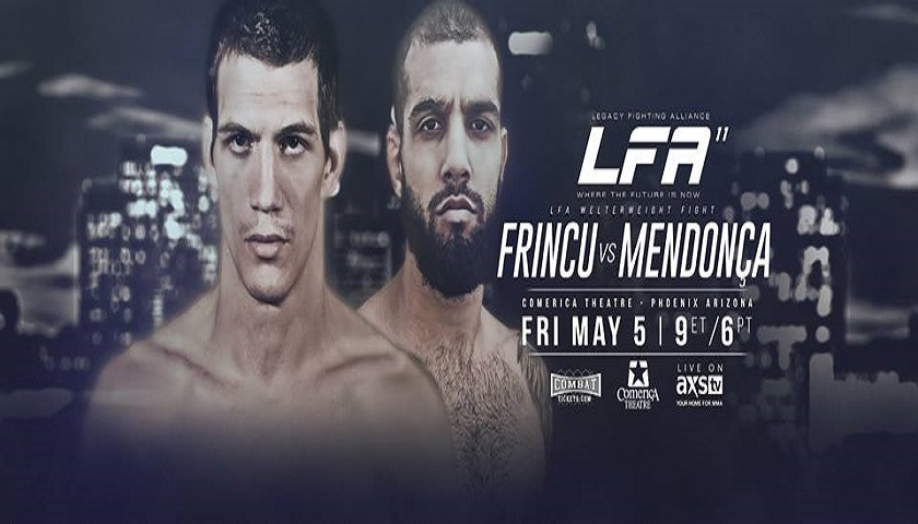 LFA 11 Results from the Comerica Theater in Phoenix, Arizona