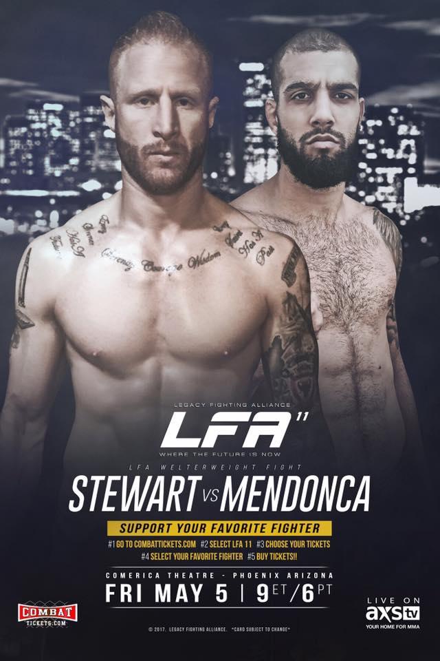 LFA 11 - Kyle Stewart vs. Maicon Mendonca