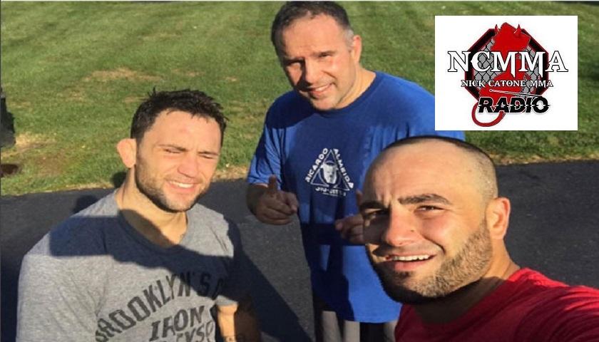 Mark Henry, Frankie Edgar, Eddie Alvarez, UFC 211