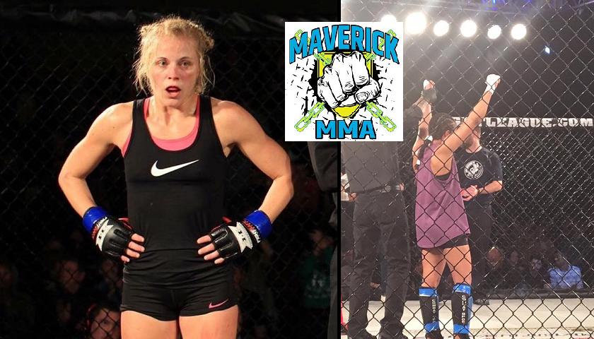Maverick MMA announces first female fight