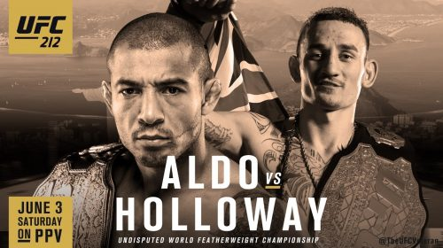 UFC 212, Jose Aldo vs. Max Holloway