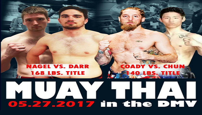 """AMTL Returns on May 27 with two titles on the line for """"Muay Thai in the DMV"""""""