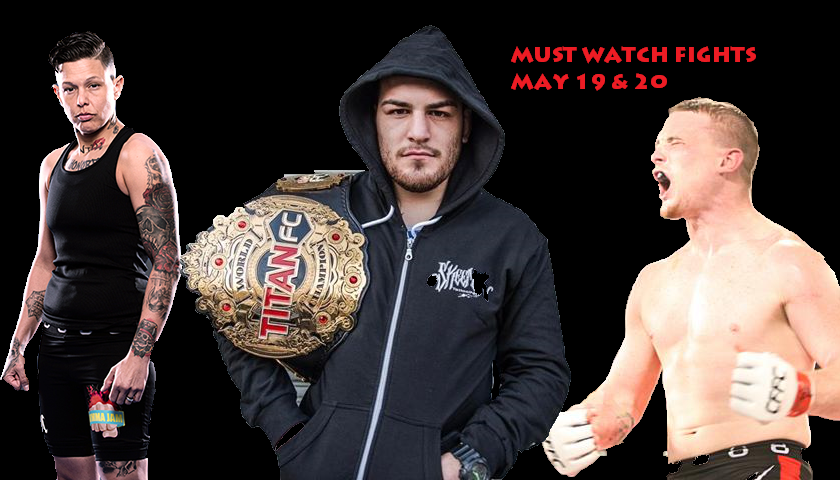 5 Must Watch Fights in MMA This Weekend