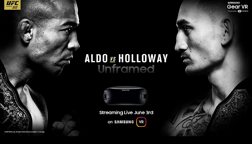Samsung Announces New Virtual Reality Partnership with UFC