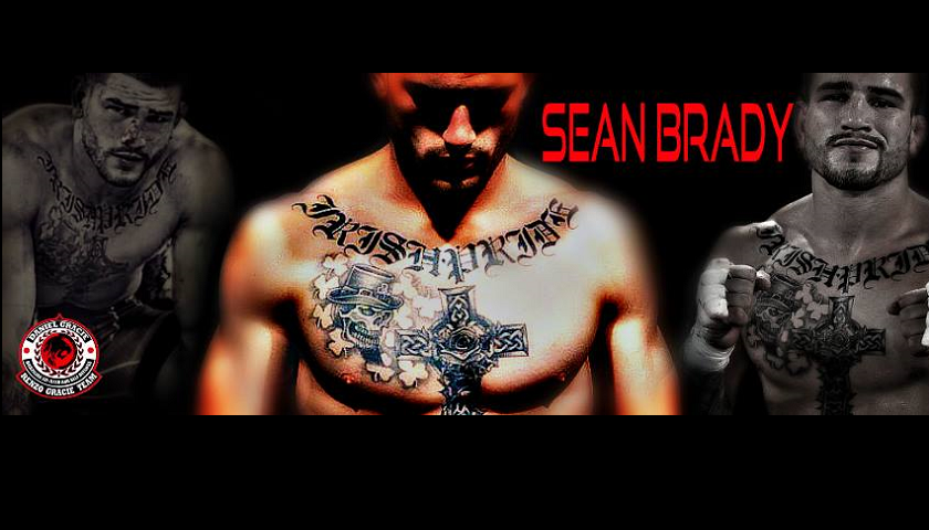 Sean Brady has one thing on his mind, the CFFC 170-pound championship