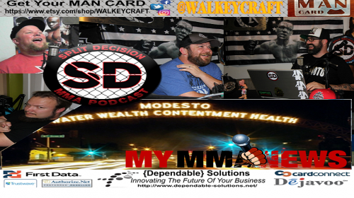 Split Decision MMA Podcast:  Big Summer Kickoff, Demetrious goes off, more