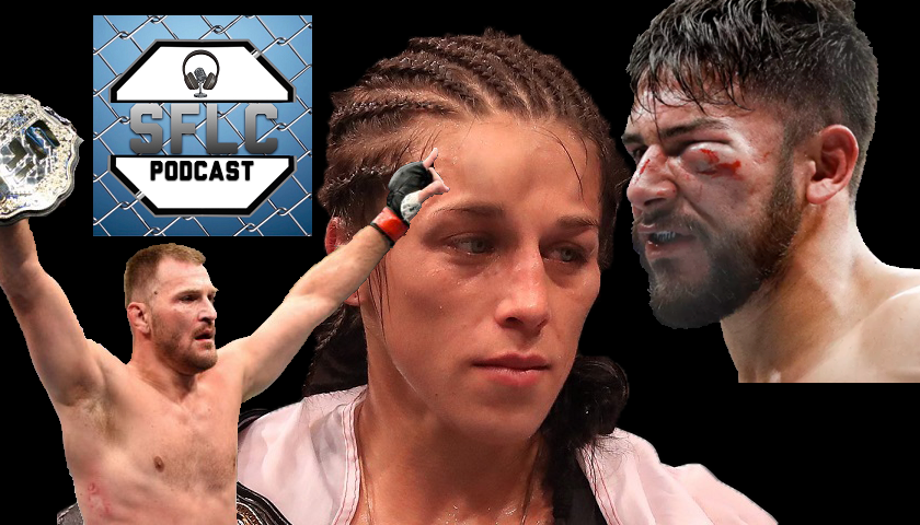 SFLC Podcast - Episode 239: Damon Martin breaks down UFC 211 aftermath