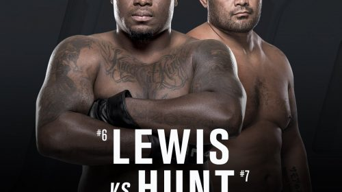UFC Fight Night 110, Mark Hunt vs. Derrick Lewis, Auckland, New Zealand