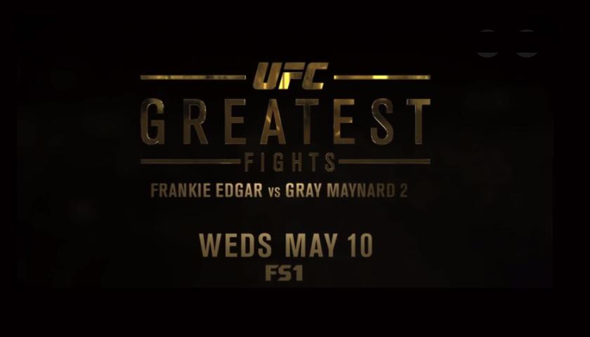 UFC's Greatest Fights Episode on FS1 Tonight – 7:30 p.m. EST