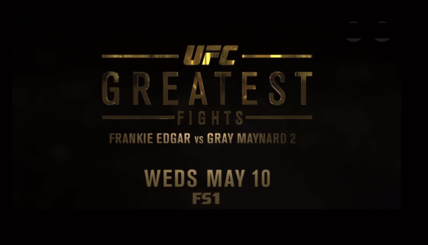 greatest fights, UFC's Greatest Fights Episode on FS1 Tonight - 7:30 p.m. EST