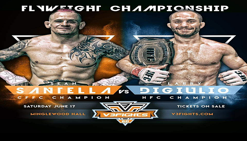 "Interview with Sean ""Shorty Rock"" Santella Ahead Of V3 Fights Flyweight Title Fight"