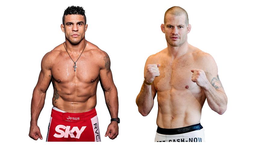 Vitor Belfort vs Nate Marquardt added to UFC 212