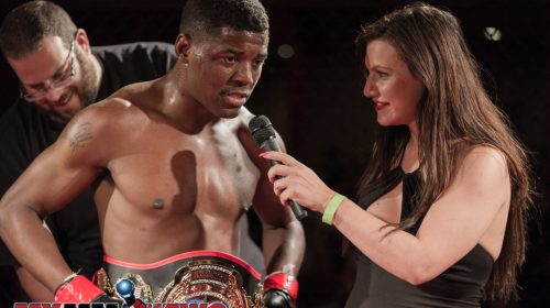 Kaheem Murray defeated Cameron Chism via KO, Art of War Cagefighting 2
