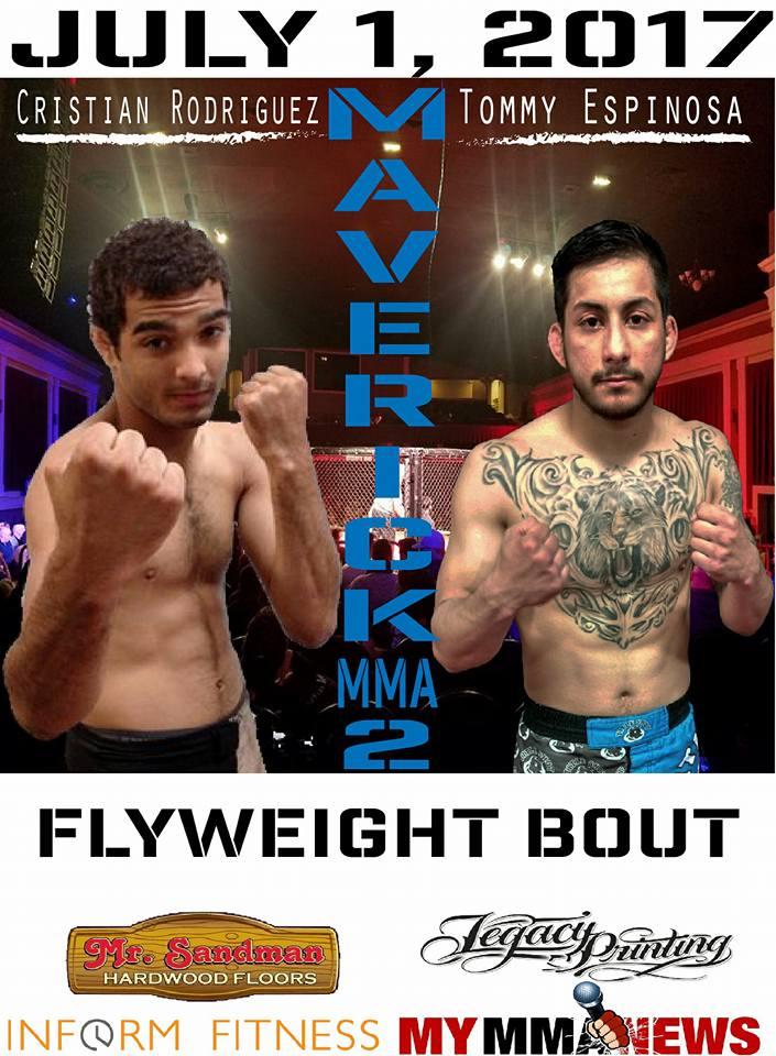 Tommy Espinosa, Maverick MMA 2