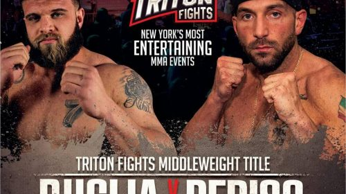 Triton Fights 3: Jeremy Puglia vs. Vincent DeRiso Battle for Vacant MW Title