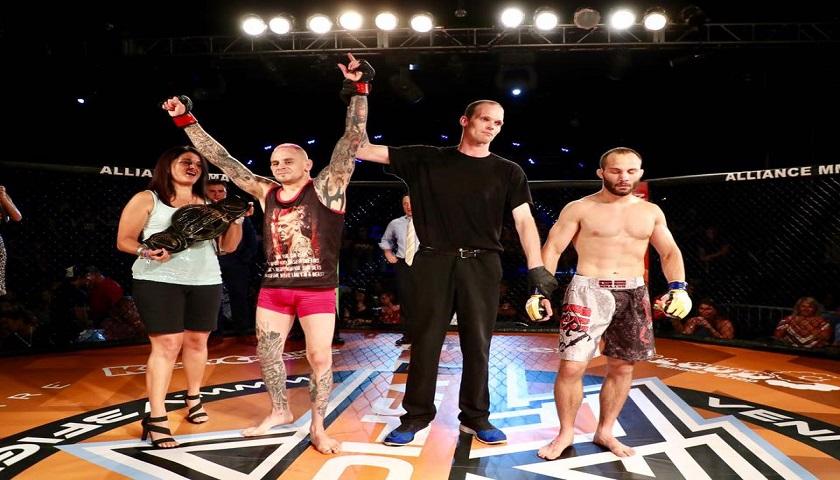 Sean Santella, V3 Fights