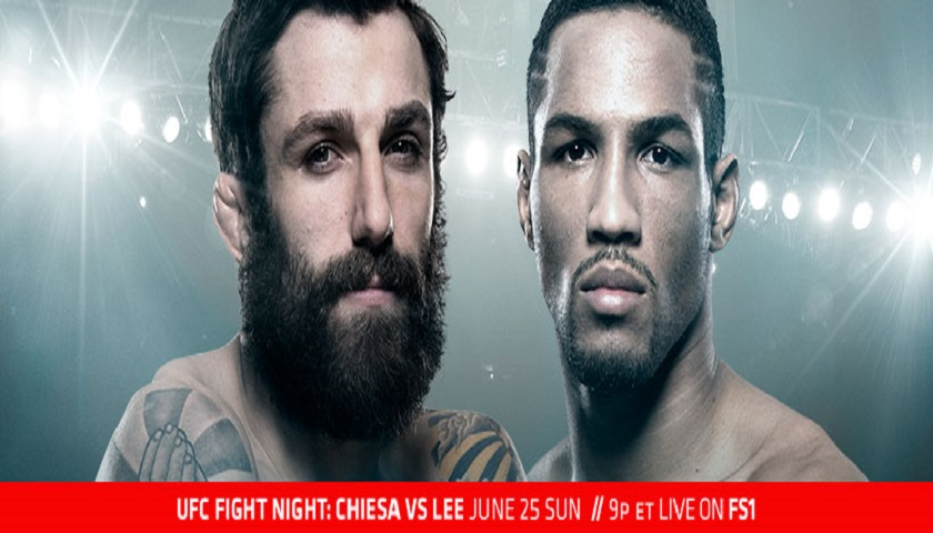 UFC Fight Night 112 Results from Oklahoma City - Chiesa vs. Lee