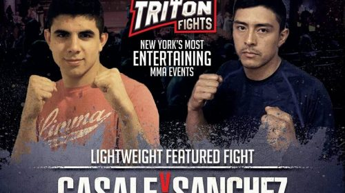 Long Island MMA: Triton Fights Lightweight Bobby Casale Interview