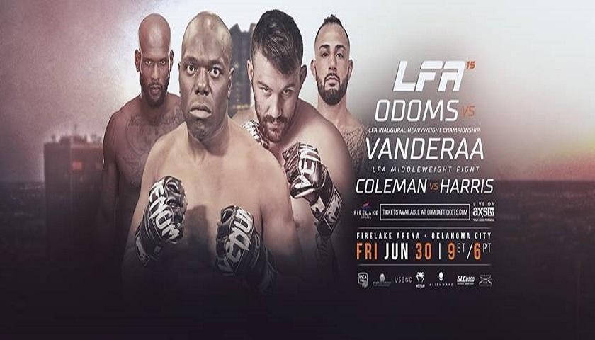 Inaugural Heavyweight Champion Will Be Crowned at LFA 15